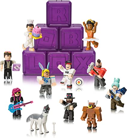 BOX ROBLOX Series 3 Celebrity Purple Mystery Boxes YOU PICK w// UNUSED CODE