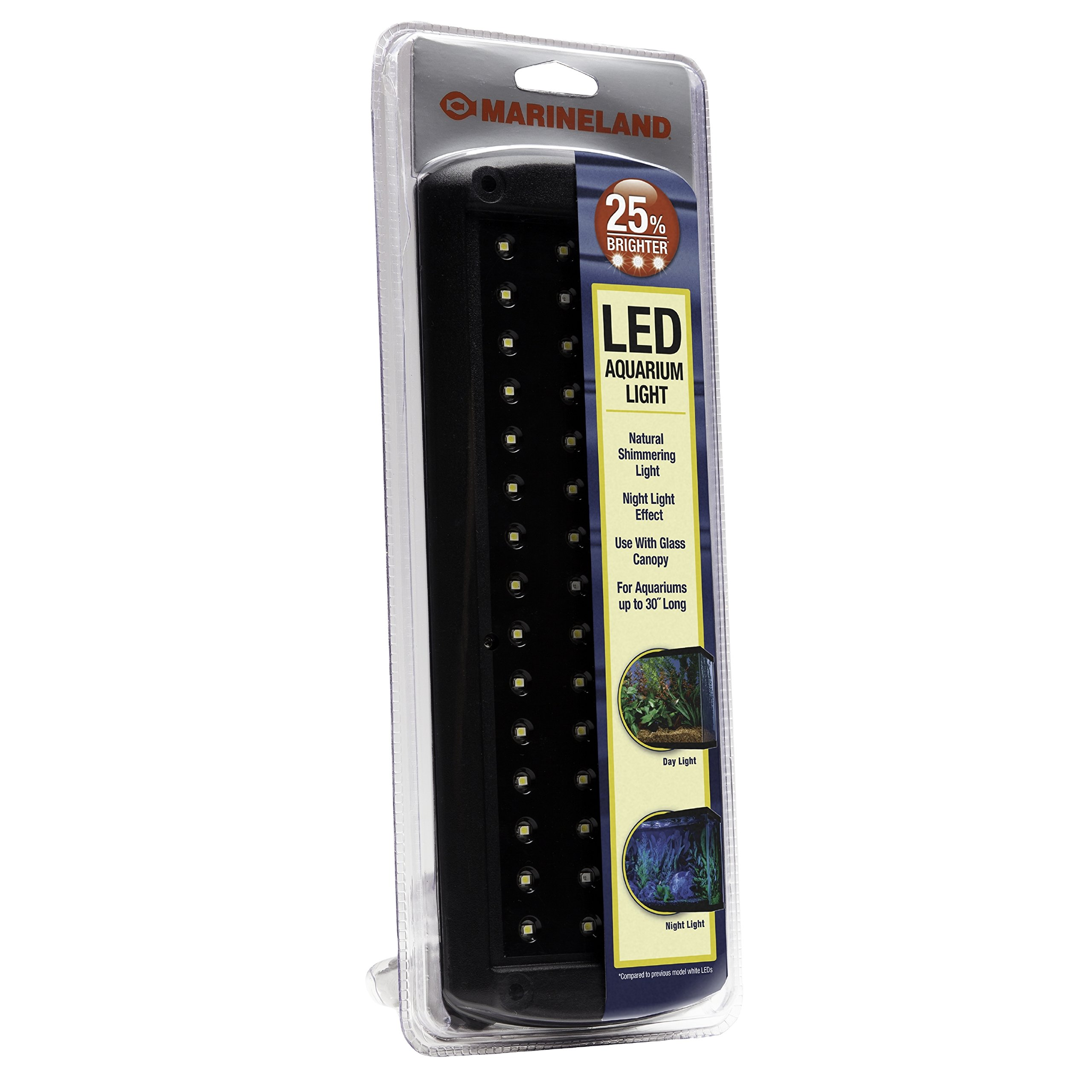 MarineLand LED Aquarium Light, 11-Inch, For Aquariums up to 30 Inches
