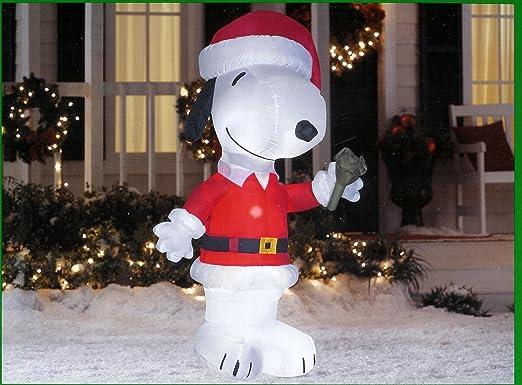 Amazon.com: Cacahuetes Snoopy Jingle Bell Papá Noel Navidad ...