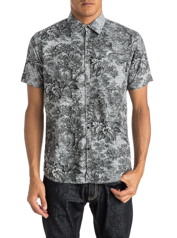 Quiksilver Mens Sunset Tunnel Shirt Short Sleeve Shirt Shirt Black Xxl