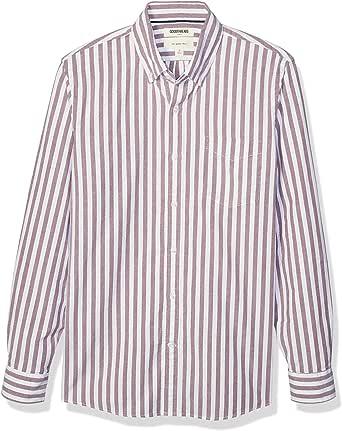 Marca Amazon - Goodthreads Slim Fit Long Sleeve Oxford Shirt Hombre