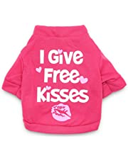 DroolingDog XS Dog Clothes XXS Dog T Shirt Funny Tee Shirts for Small Dogs, XS