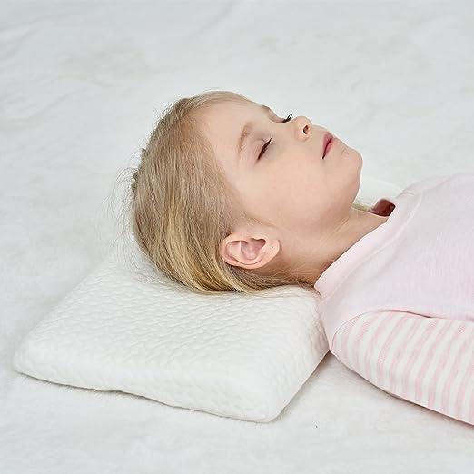 KomfortKissen Gesundheit Kinder Kissen f/ür Bett Schlafen 4-12 Jahre ADHS Kissen Kinder Anti-Stress