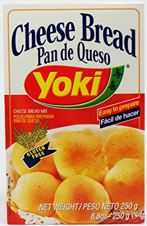 Amazon.com : Yoki Cheese Bread Mix, 8.80-Ounce (Pack of 10) : Grocery & Gourmet Food