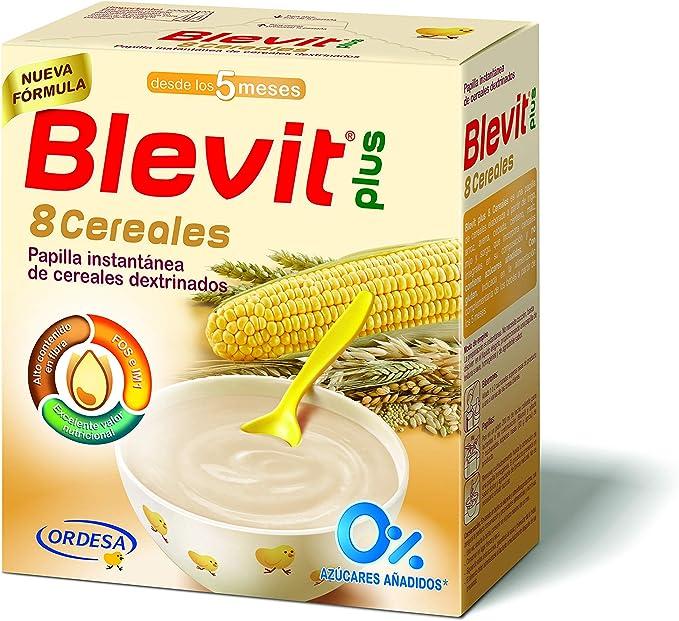 Blevit Plus 8 Cereales para bebé - 2 de 500 grams (Total: 1000 gr ...
