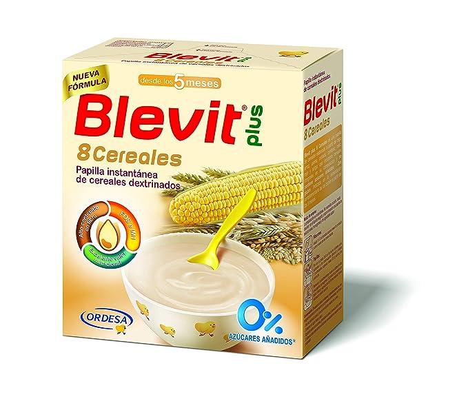 Blevit Plus 8 Cereales para bebé - 4 de 500 grams (Total: 2000 gr