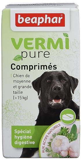 Beaphar - Tabletas antiparasitarias Naturales Perro Grande, 50 ud