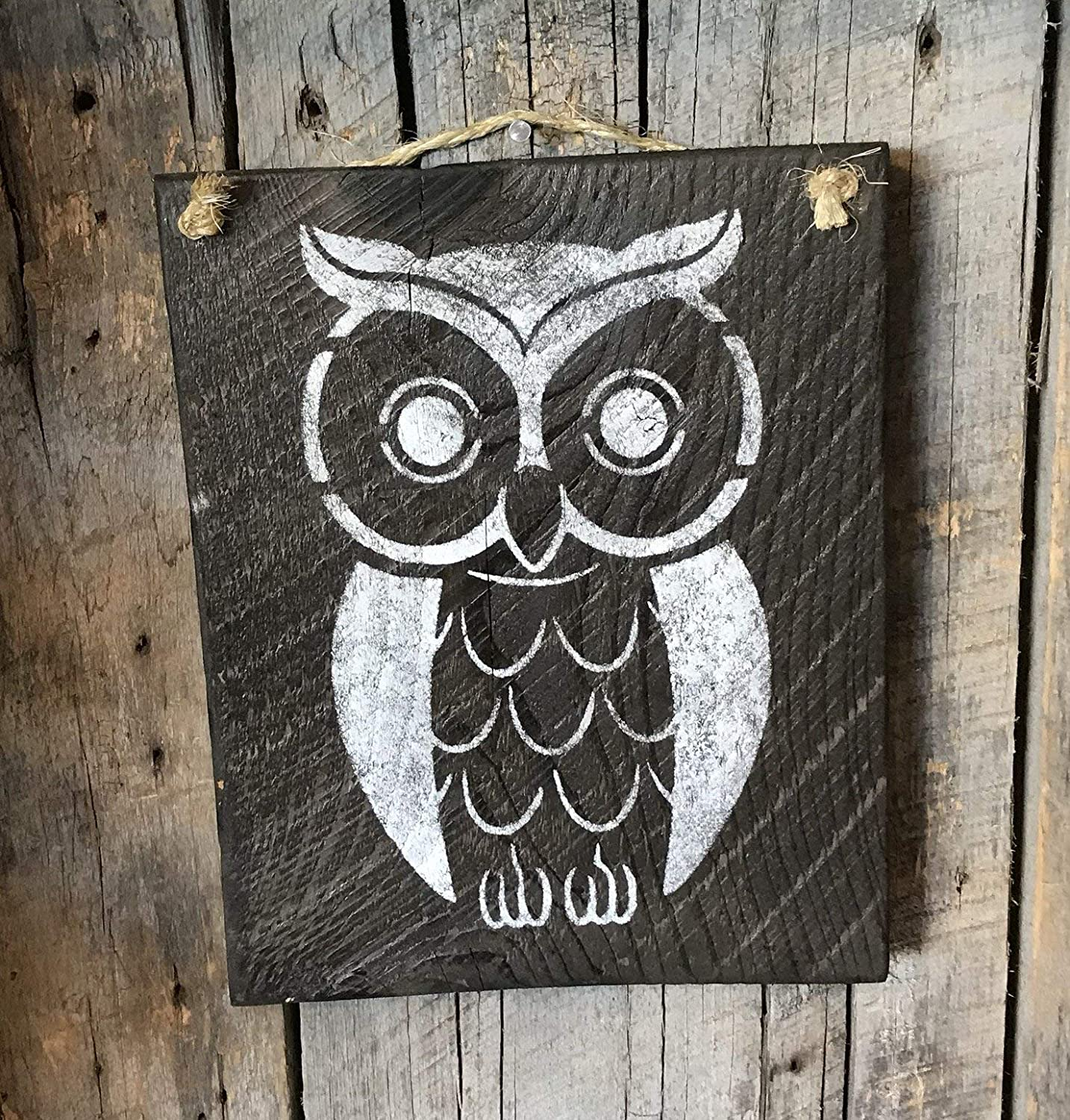 Were A Hoot Owl Quote Sign Custom Name Owl Sign Distessed Wood Owl Sign Hand Painted Rustic Wood Barn Owl Personalized Sign