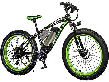 Bicicleta eléctrica de montaña PRESCOTT 350W con caucho grueso para playa, nieve ente otros.