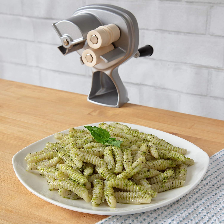Cavatelli Machine with Easy Clean Rollers to Make Italian Pasta /& Gnocchi