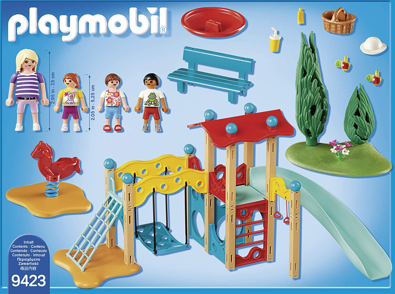 PLAYMOBIL Family Fun Parque Infantil, a Partir de 4 Años ...