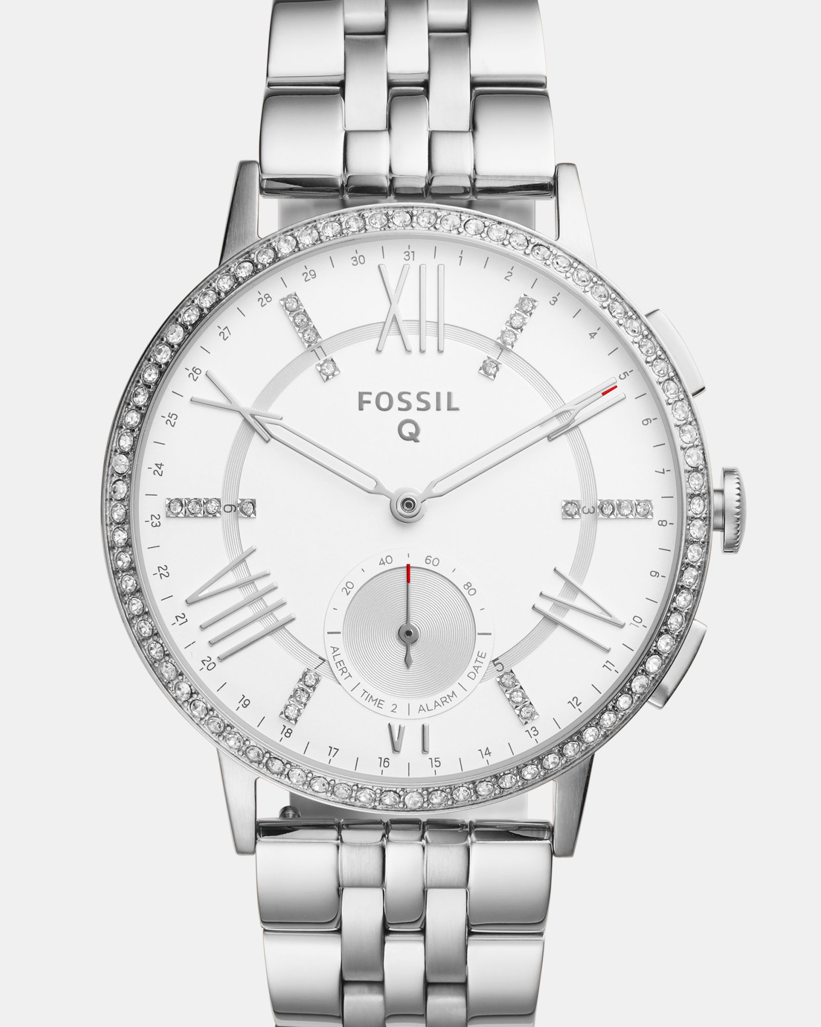 Fossil Hybrid Smartwatch - Q Gazer Stainless Steel by Fossil