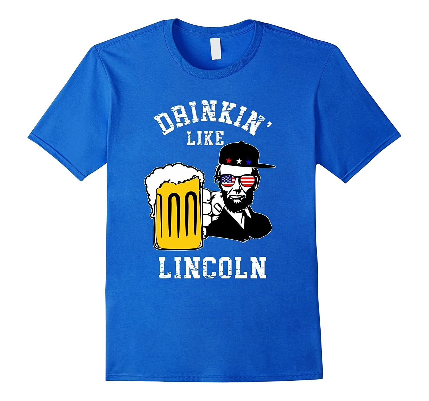 4th of July Lincoln Drinking Patriotic-PL