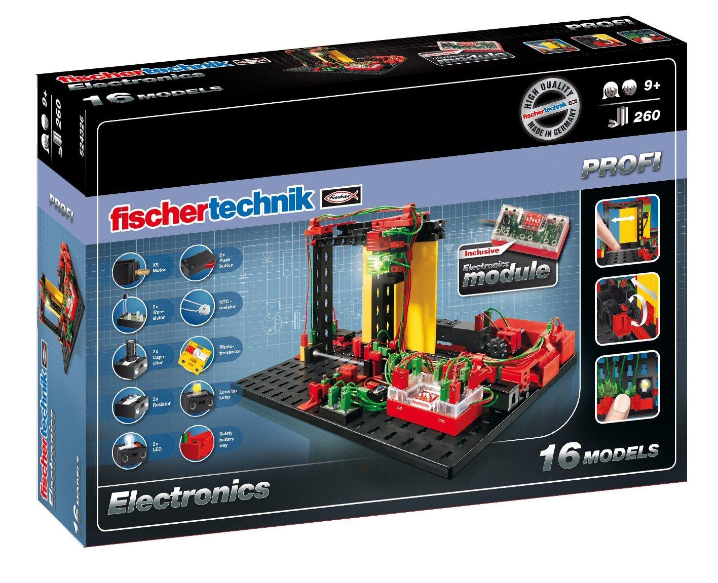 Fischertechnik Electronics Set Toys Games Amazoncom Snap Circuits Sound Discovery Kit