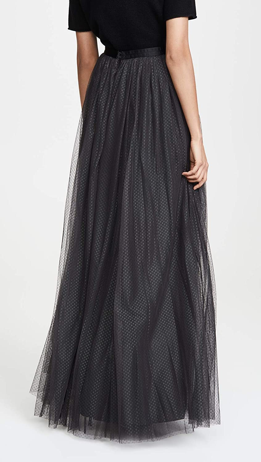 discount collection choose latest dirt cheap Needle & Thread Women's Dotted Tulle Maxi Skirt at Amazon ...