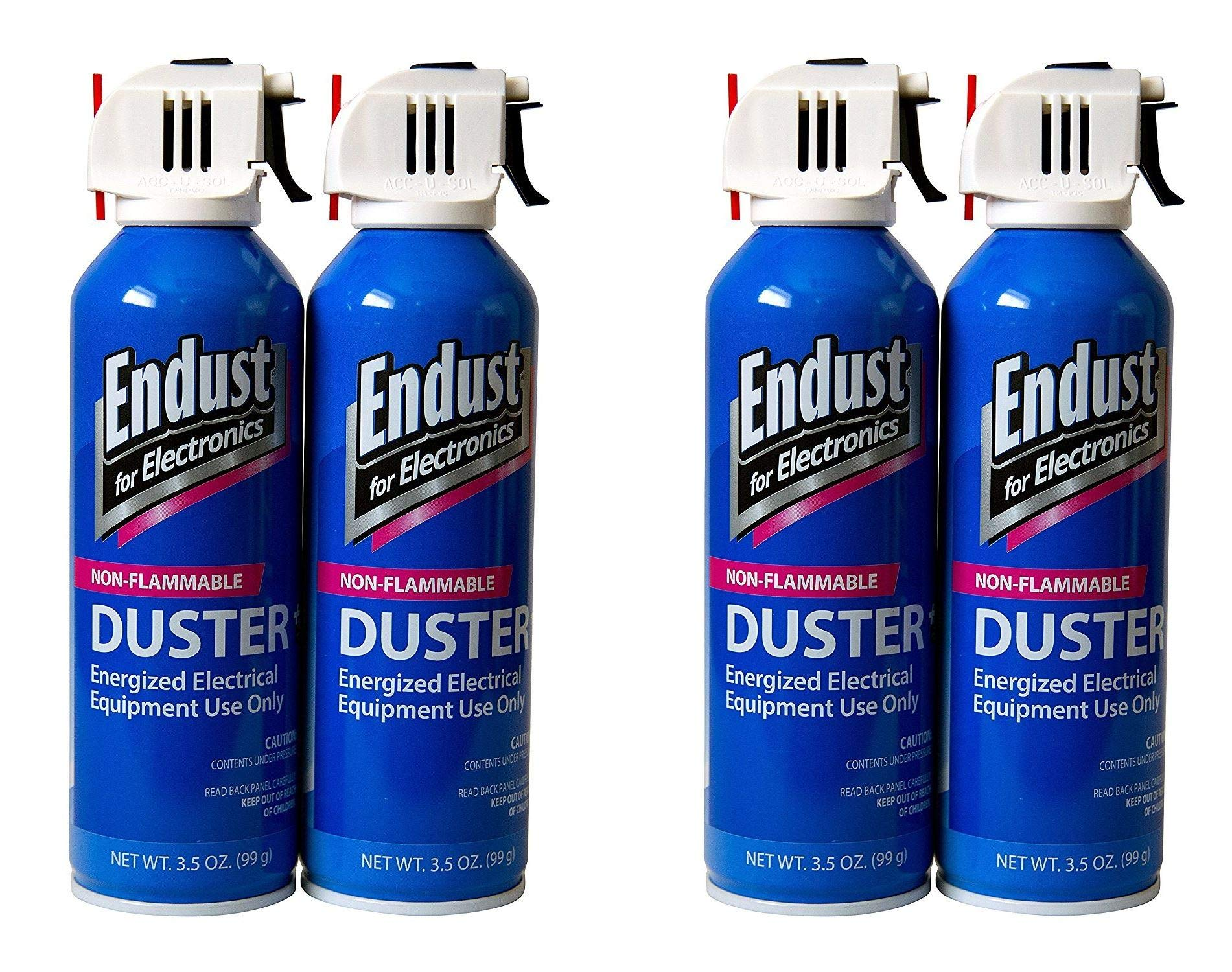 Endust Streak Free Duster 2-Pack, 3.5 Oz Non-Flammable with Bitterant (Тwo Рack)