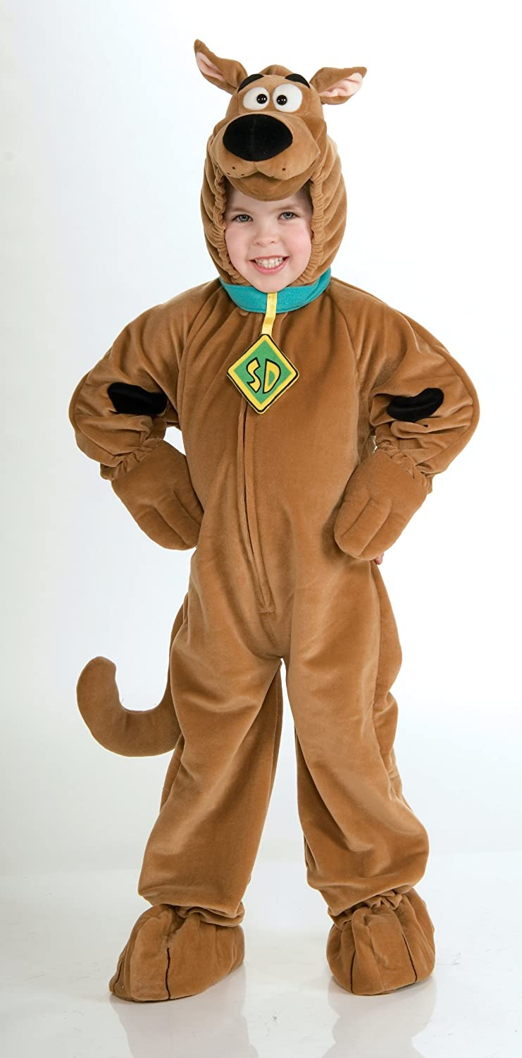 Amazon.com: Scooby - Doo Child\'s Deluxe Scooby Costume, Toddler ...