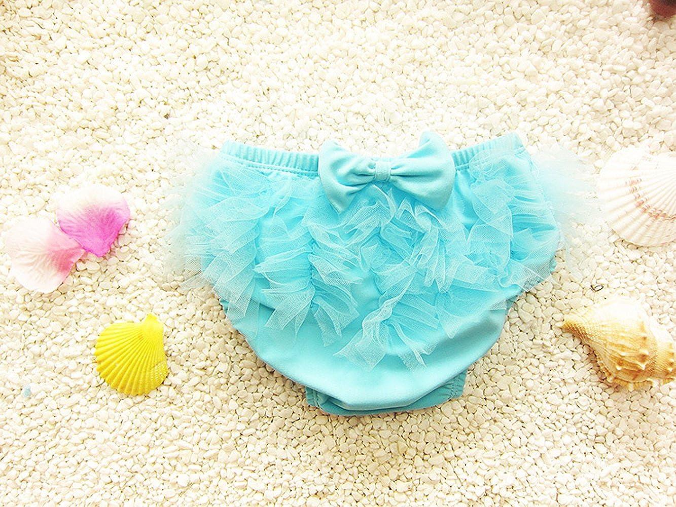 Top Shop Little Girls Lace Swimwear 3 Piece Bikini Set Swimsuit Bathing Suit