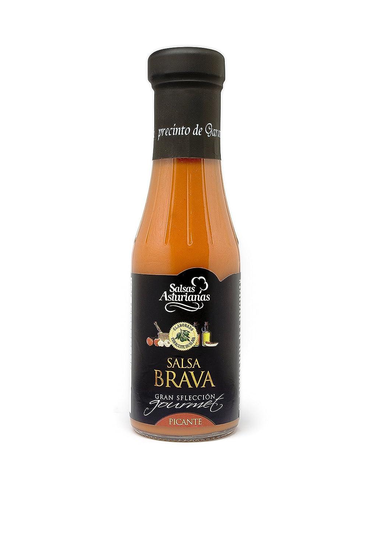 Salsas Asturianas Salsa Brava - 310 gr: Amazon.es: Alimentación y bebidas