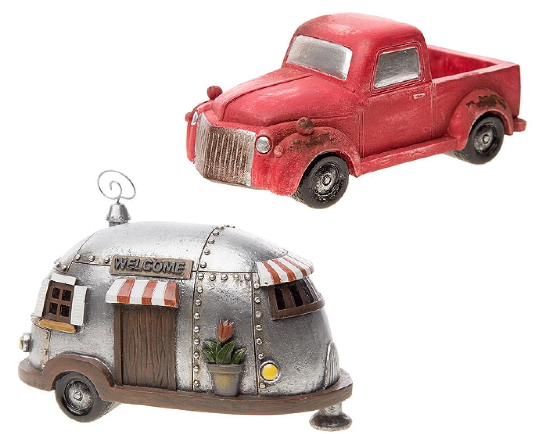 Amazon.com : Fairy Garden DIY Miniature Old-Fashioned Pickup Truck ...