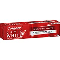 Colgate Optic White Sparkling White Teeth Whitening Toothpaste with Hydrogen Peroxide Enamel Safe Tooth paste 140g