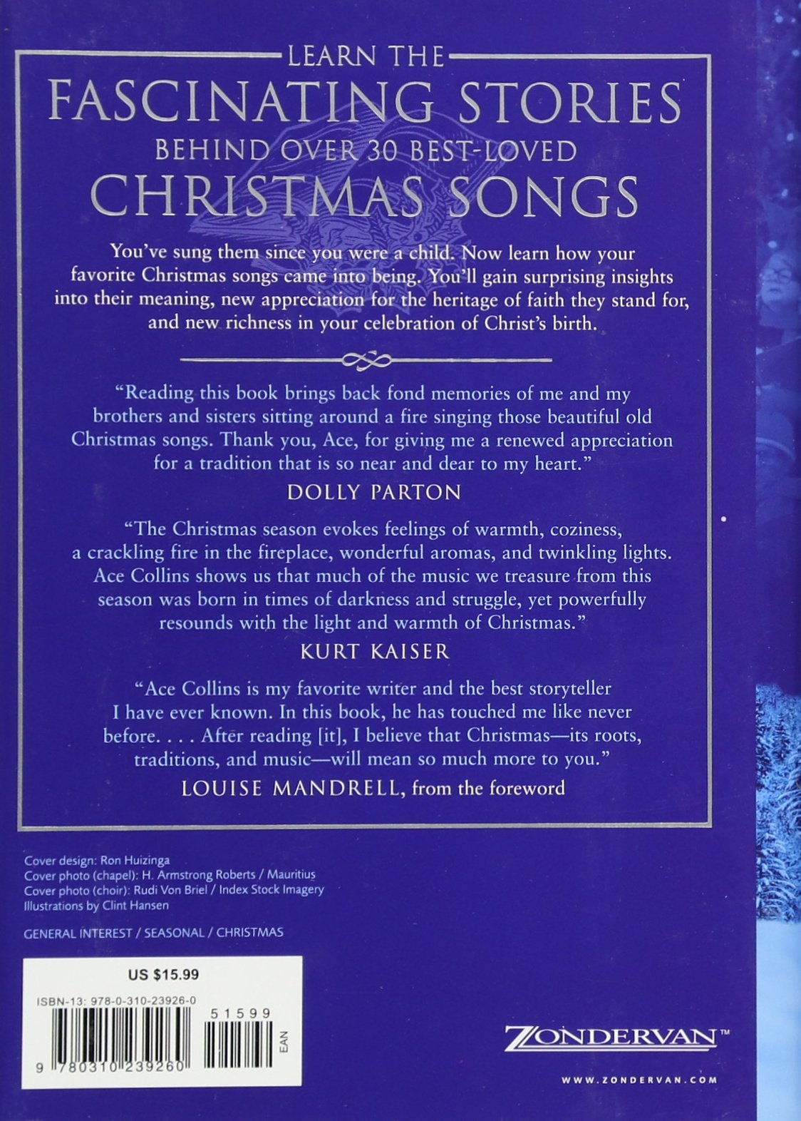 Stories Behind the Best-Loved Songs of Christmas: Ace Collins, Clint ...
