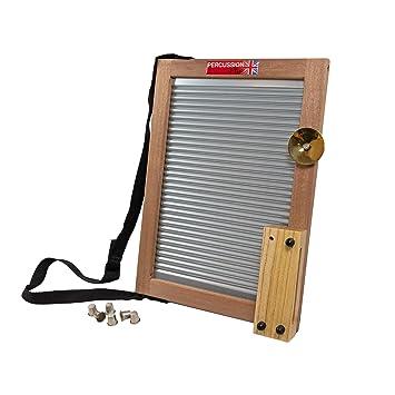 Percussion Plus - Tabla de lavar (instrumento de percusi?n): Amazon.es: Instrumentos musicales