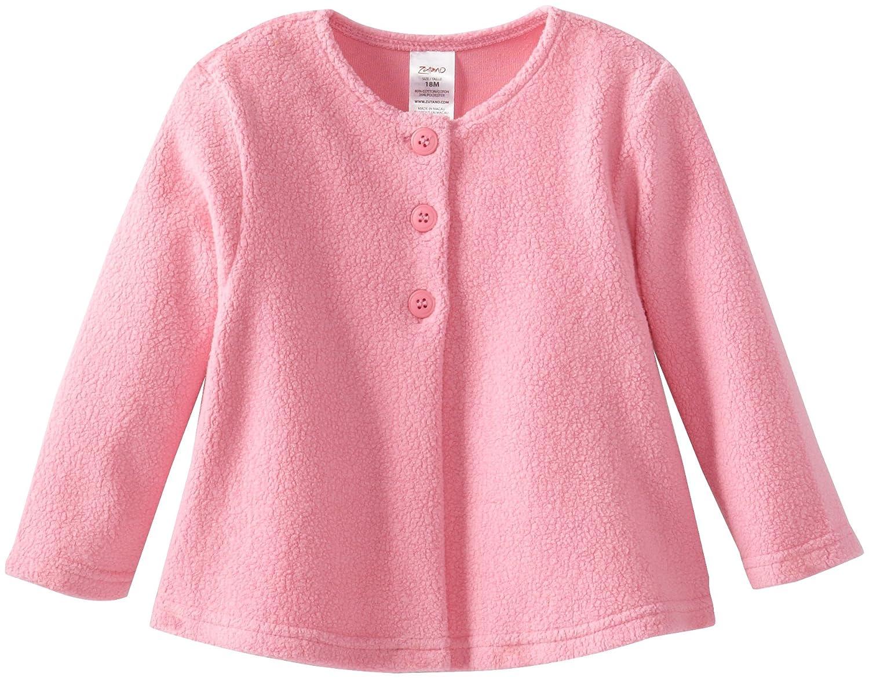 Zutano Baby Girls Cozie Swing Jacket