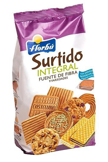 Florbú Surtido de Galletas Integrales - 420 Gr