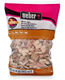 Weber-Stephen Products 17136 Pecan Wood Chips, 192 cu. in. (0.003 cubic meter)