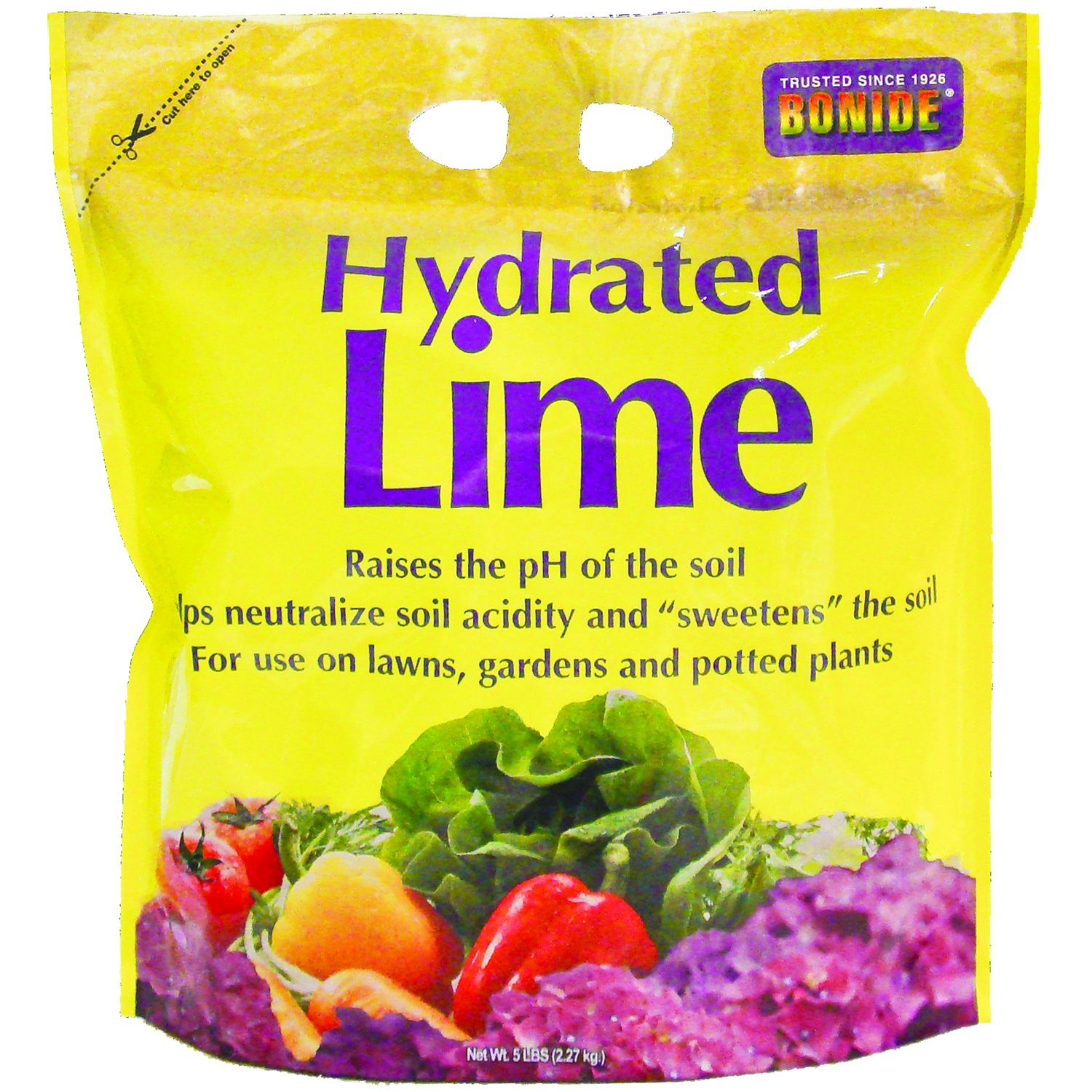 Bonide Chemical Number-5 Hydrated Lime for Soil - 5 Pounds