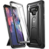 YOUMAKER Kickstand Case for Galaxy Note 9, Full Body with Built-in Screen Protector Heavy Duty Protection Shockproof Rugged C