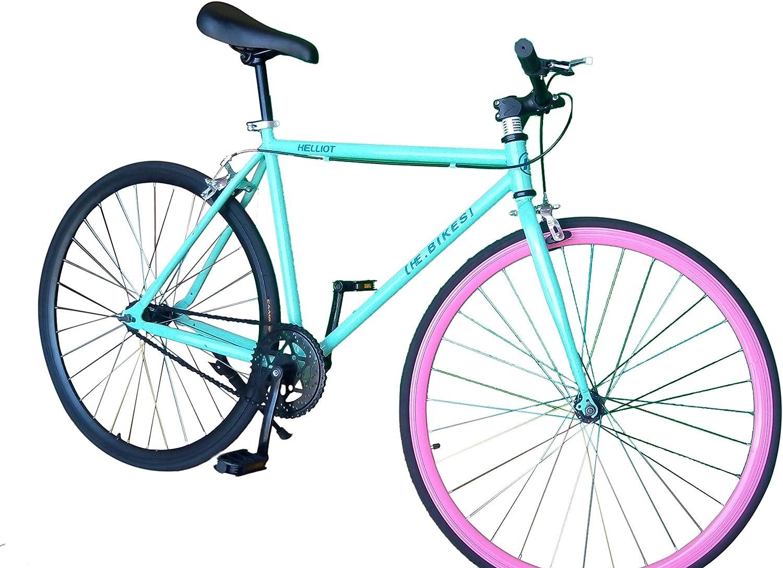 Helliot Bikes Fixie Soho H08 Bicicleta Urbana, Unisex Adulto ...