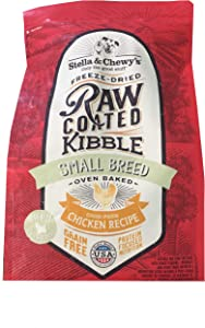 Stella & Chewy'S Raw Coated Small Breed Chicken Recipe Dog Food 3.5Lb