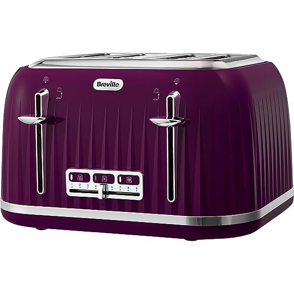 Breville Impressions 4 Slice Toaster - Purple