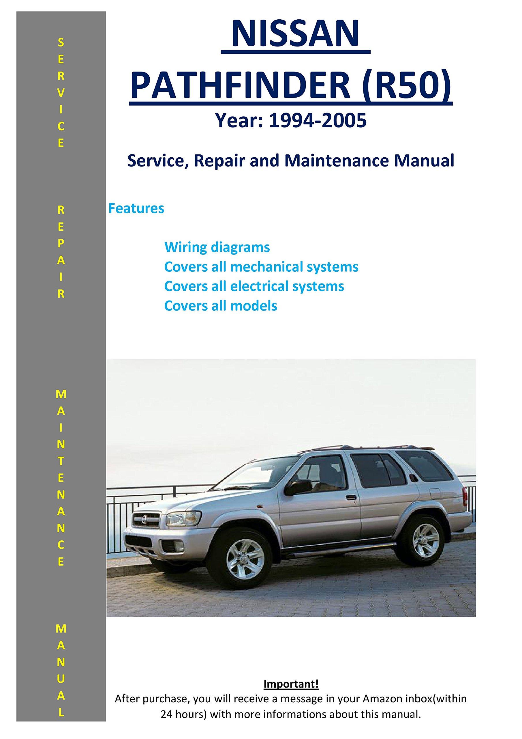 2008 nissan pathfinder wiring diagram nissan pathfinder r50 1994 2005 service repair workshop  nissan pathfinder r50 1994 2005