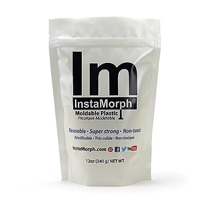 InstaMorph - Moldable Plastic - 12oz (White)