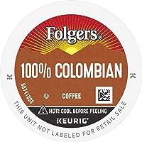 Folgers 100% Colombian Medium Roast Coffee, 72 Keurig K-Cup Pods