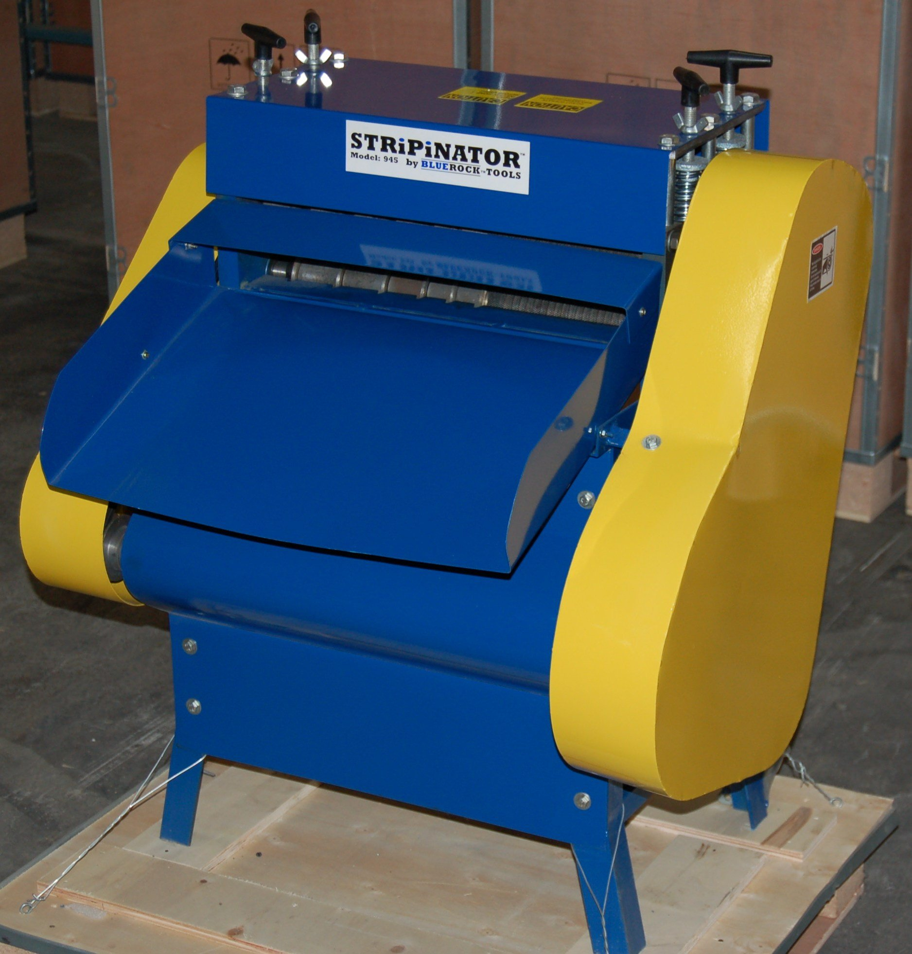 STRiPiNATOR Model 945 Wire Stripping Machine Scrap Copper Wire Recycler by ... by BLUEROCK (Image #1)