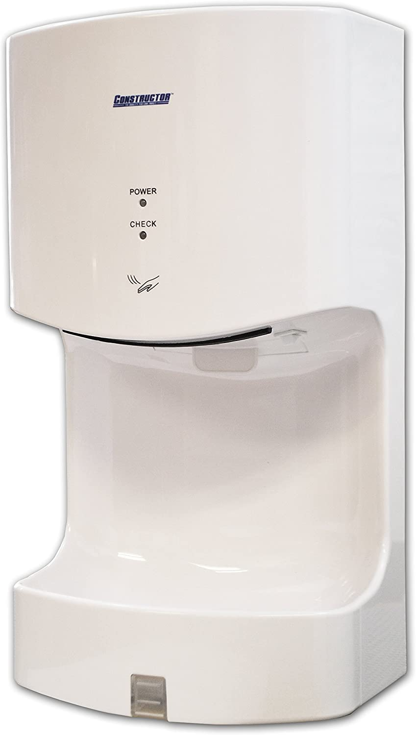 1300 Watts High Speed Automatic Hand Dryer Plastic Durable Infrared Silver