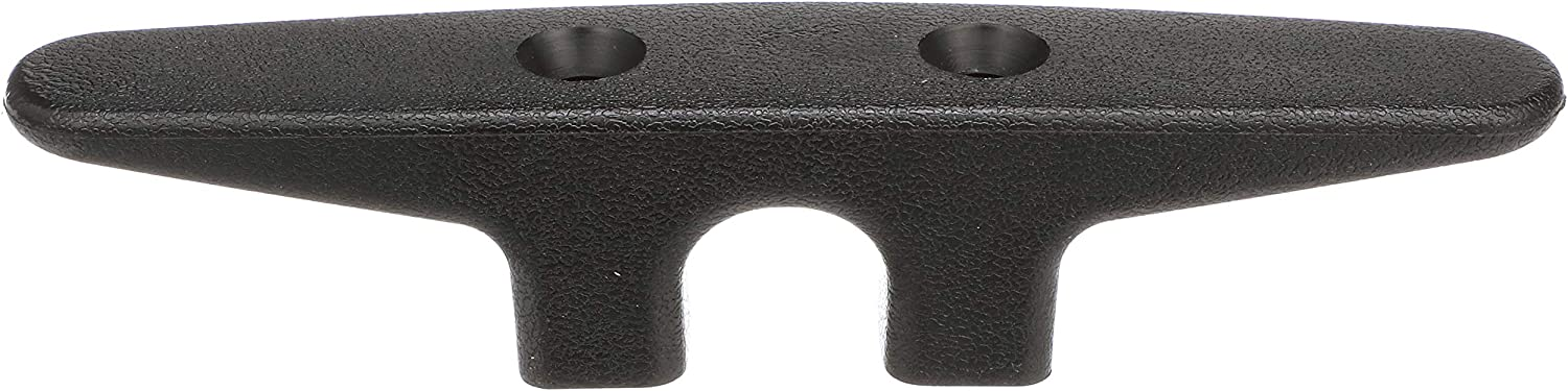 NEW Black Plastic Cleat 130mm from Blue Bottle Marine