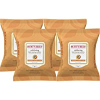 Burt's Bees Sensitive Facial Cleansing Towelettes with Exfoliating Peach and Willow...