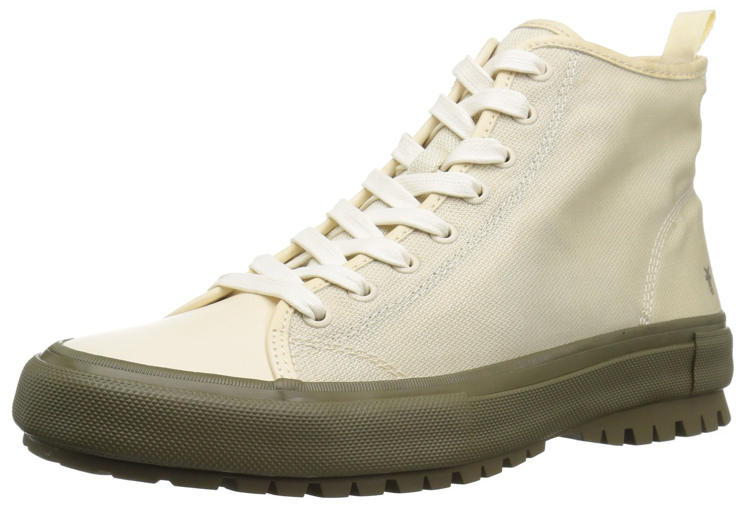FRYE Men's Ryan Lug Midlace Rock Climbing Shoe, Off White, 10 Medium US by FRYE