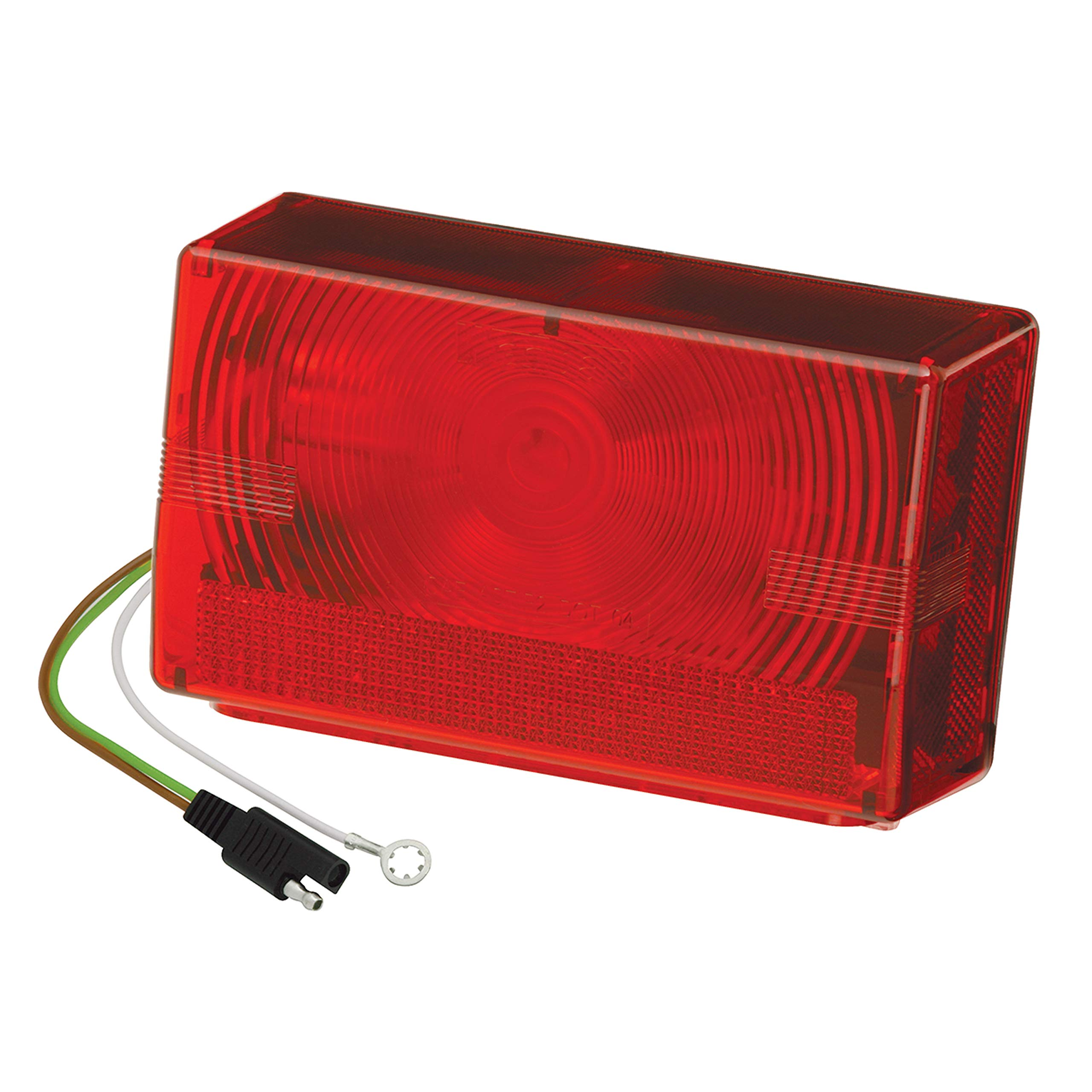Wesbar 403075 Submersible Tail Light, Over 80'' Wide Trailer, Right/Curbside - Black by Fulton