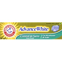 Arm & Hammer Advance White Pasta Dental Control Sarro 121 gr