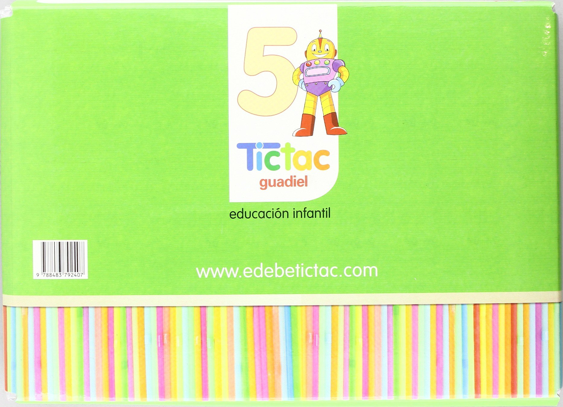 TIC TAC 5 AÑOS PRIMER TRIMESTRE: Obra Colectiva Edebé: 9788483792407: Amazon.com: Books