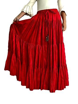 Mercedes Henares Falda Flamenca para Mujer Modelo Sevilla Color ...