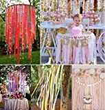 24 Rolls Crepe Paper Streamers Party Streamers