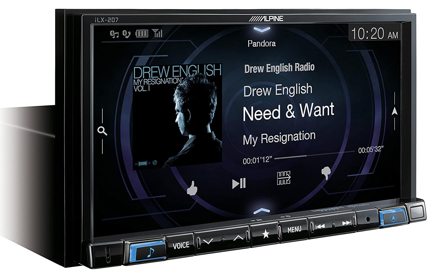 Amazon.com: Alpine iLX-207 Apple CarPlay & Android Auto Receiver W/ Alpine Rear View Camera, Steering Wheel Interface, Trigger Mod: Cell Phones & ...