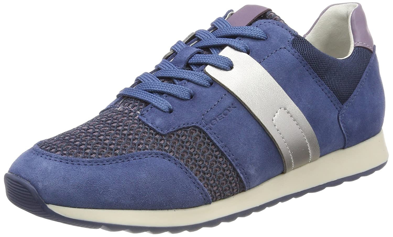 Geox D Deynna D, Zapatillas para Mujer 40 EU Azul